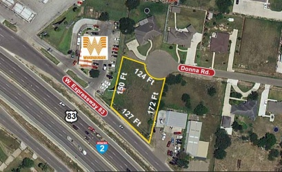 1003 W Expressway 83, Palmview, Texas 78572, ,Land,For Sale,W Expressway 83 ,1018