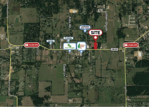 0 FM 2920, Tomball, Texas 77377, ,Land,For Sale,FM 2920,1025