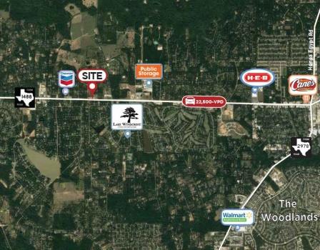 10540 FM 1488, Magnolia, Texas 77354, ,Retail,For Lease,Windcrest Plaza,FM 1488,1027